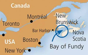 Bay of Fundy Map